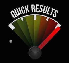 quick results speedometer